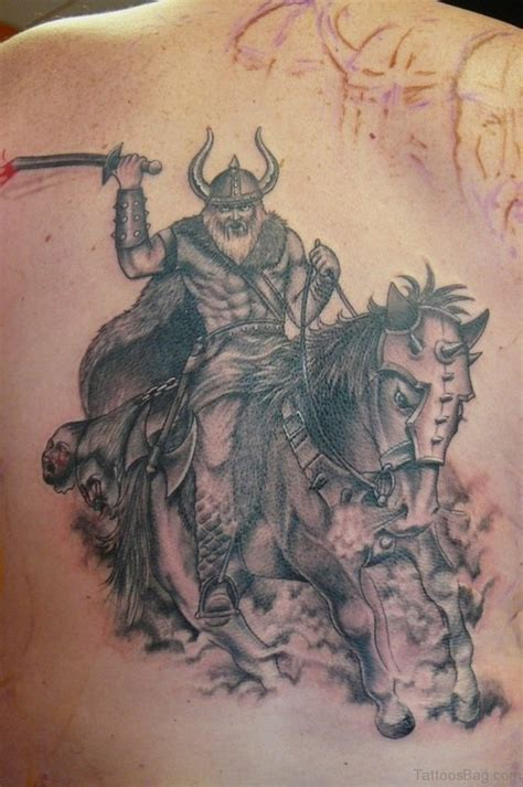 tattoo back warrior 59 alluring viking tattoos for back