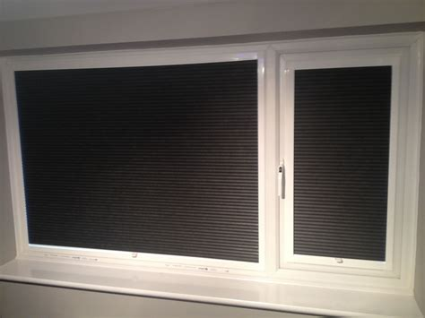 Blackout Blinds Blackout Pleated Fit Blinds South