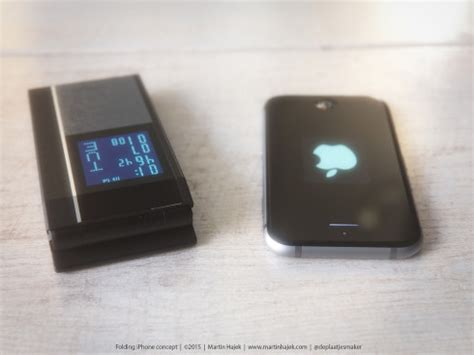 apple flip phone is one of the iphone clamshells done