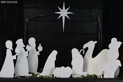 nativity silhouette template search results for nativity silhouette patterns to cut