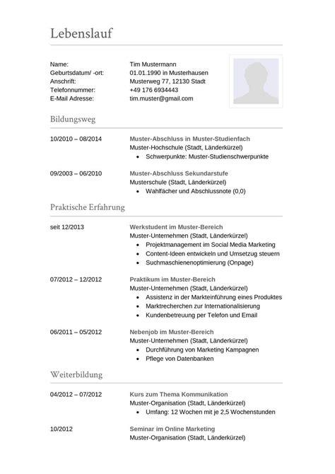 Moderner Lebenslauf Vorlage 2014 Vorlage Muster Lebenslauf 20 Lebenslauf Nach Ausbildung Kostenlose Anwendung Die