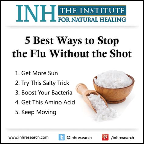 5 Most Effective Ways To Fight Flu by 5 Best Ways To Stop The Flu Without The Healing