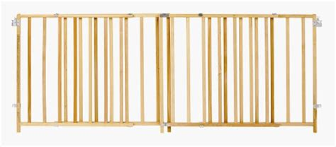 north states extra wide wooden swing gate swing dog pet baby child safety gate 8 ft wide durable