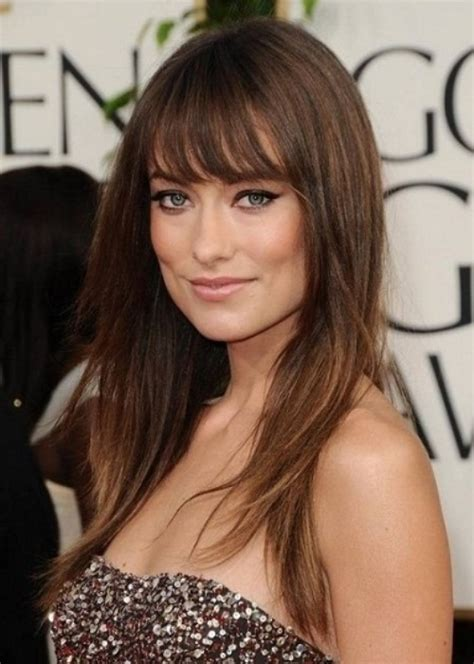 hairstyles for long straight fine hair with bangs долги фризури мираж