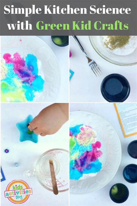 green kid crafts simple kitchen science with green kid crafts fullact
