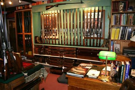 office gun room custom home ideas antiques