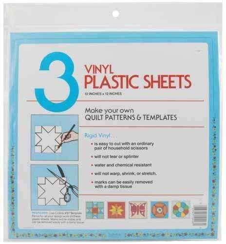 ez quilting 882670027 quilter s template plastic