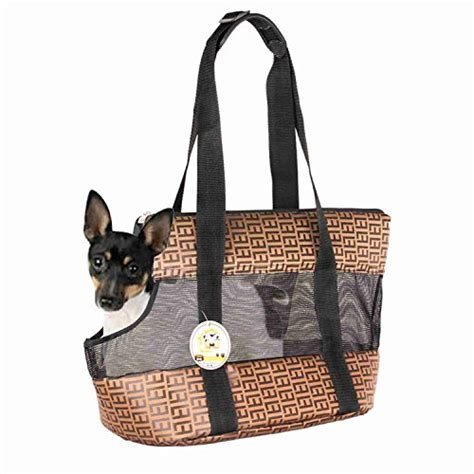puppy purse travel pet carrier purse by small cat polyester travel tote