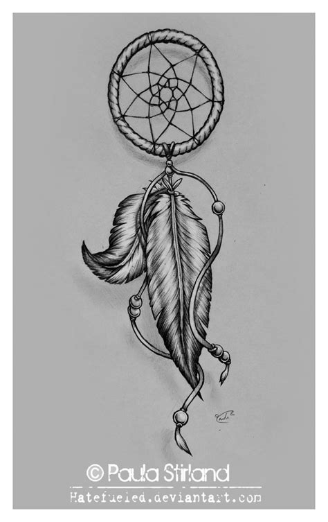 dreamcatcher tattoo some blue into pirple on the feathers
