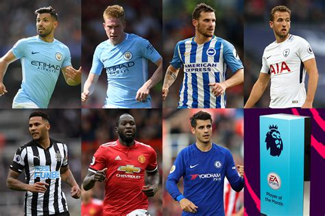epl potm october 2017 choose your ea sports player of the month for september