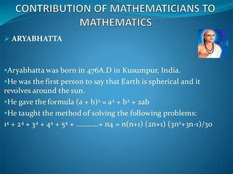 aryabhatta biography in english 7 contributionsof indian mathematicians to mathematics