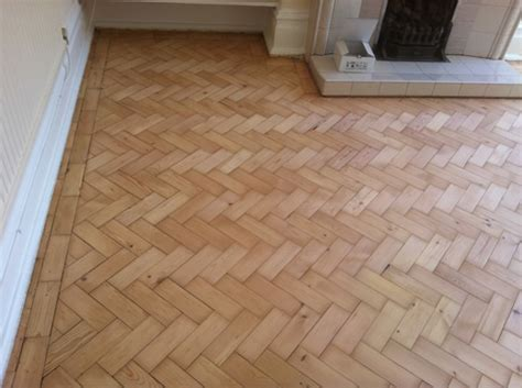 pine parquet wood block flooring sanded sealed floor sanding north wales cheshire