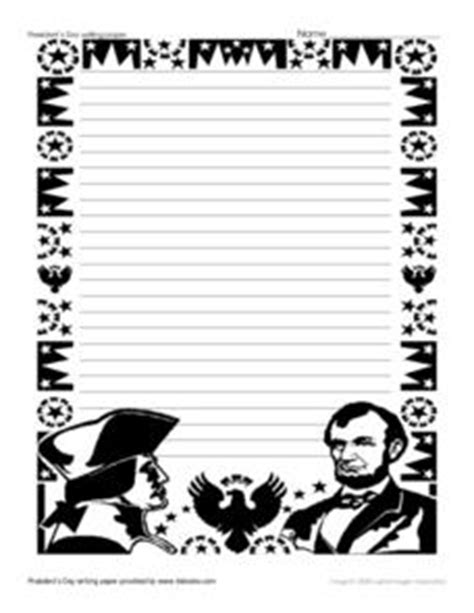 presidents day writing paper president s day writing paper 3rd 4th grade printables
