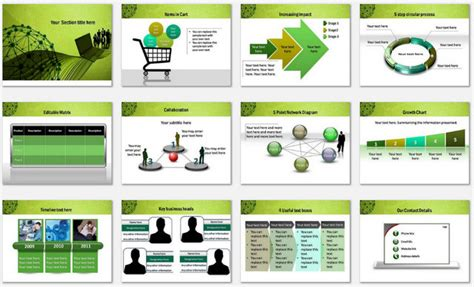 ppt templates for network presentation powerpoint social network template