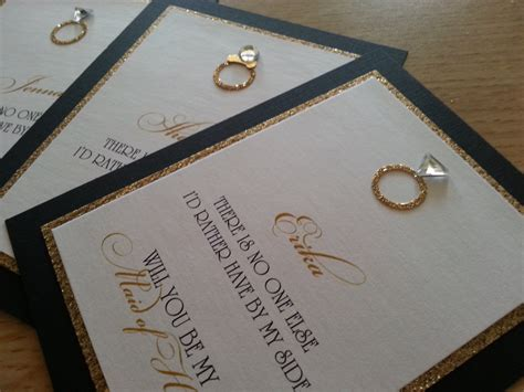 Can You Buy A Gift Card For Etsy - hope will you be my bridesmaid cards by theinspirednote on etsy