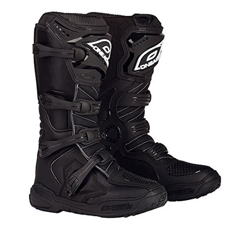 size 12 motocross boots o neal s element boots black size 12 motorcycle