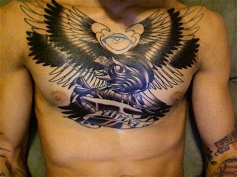 mens tattoos for wife design chest ideas for
