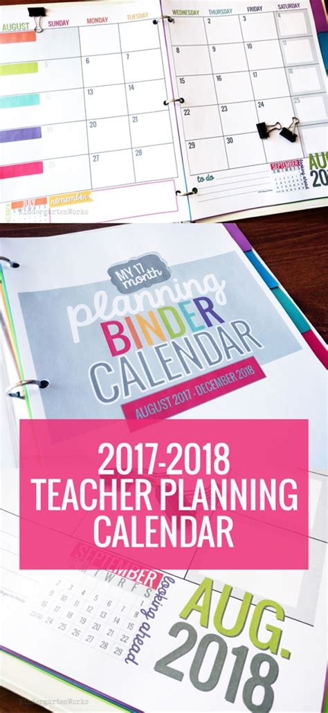 printable teacher planner uk printable 2017 2018 teacher planning calendar template