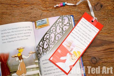 world book day craft easy bookmarks red ted art s blog
