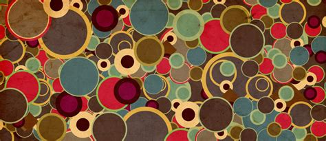 Retro Covers by Vintage Circle Pattern Cover