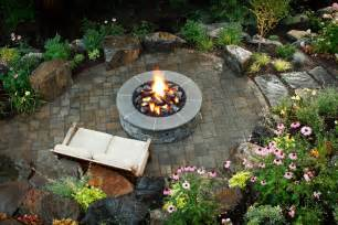 backyard firepit brick and concrete pits hgtv