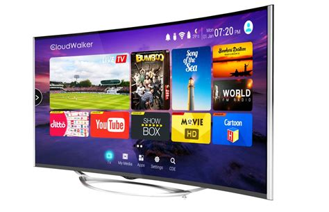 cloud tv android cloudwalker 55 inch 4k uhd cloud tv with android os launched starting 54 999 inr