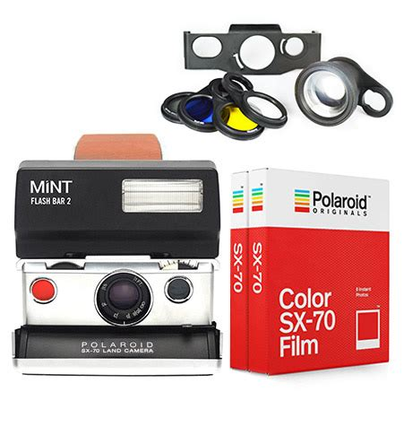 polaroid sx 70 model 1 ultimate package by mint