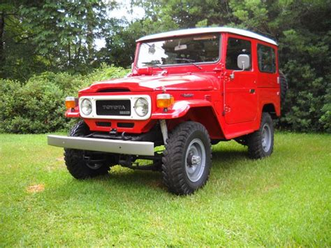 1981 Toyota Land Cruiser 1981 Toyota Land Cruiser Bj42 Diesel Left Drive