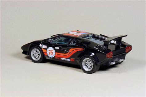 Bburago Lamborghini Countach Bburago Lamborghini Countach 5000 In 1 43 Scale Mdiecast