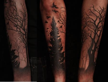 hi1980 forest tattoos von tattoo bewertung de