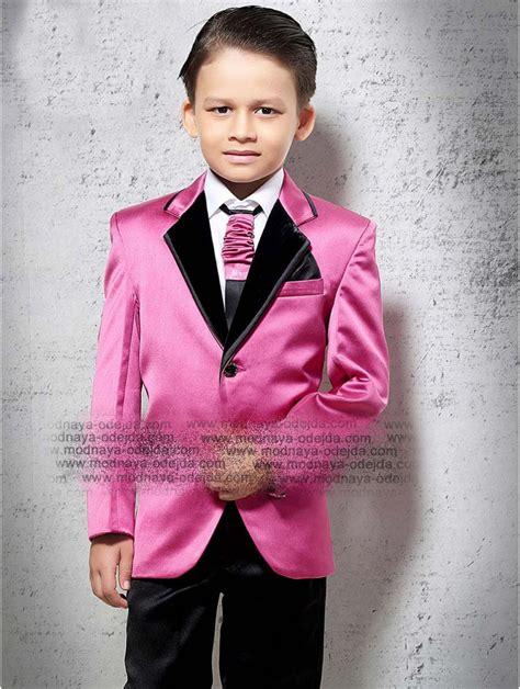 Camisas Para Nino Con Corbata   rosa elegante chaqueta para ni 241 o pantal 243 n negro camisa