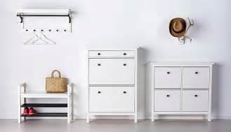 hemnes s 233 rie meubles entr 233 e blanc ikea