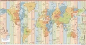 tijdsverschil en tijdzones landenkompas