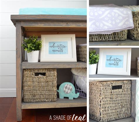rustic grey changing table white rustic grey changing table diy projects