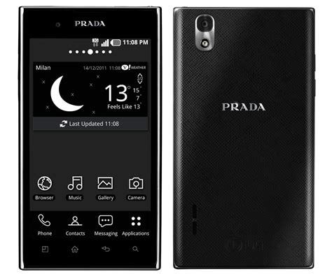 The Prada Phone By Lg by Ntt Docomo Announces Prada Phone By Lg 3 0 Pre Orders