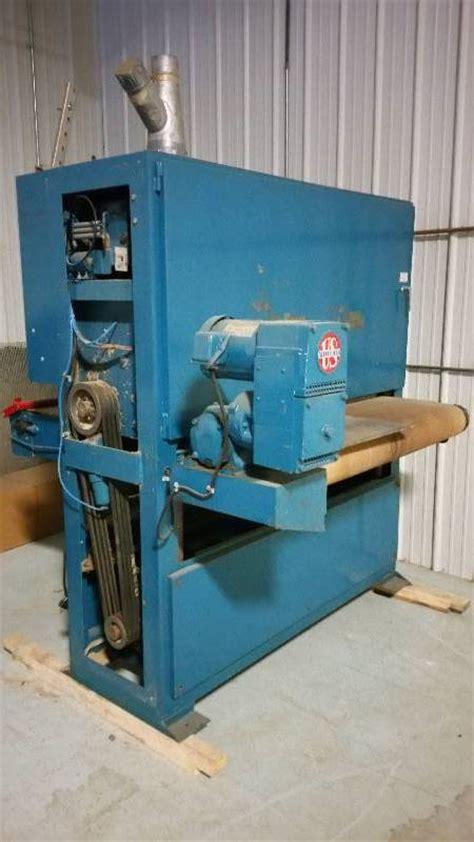 halsty wide belt sander industrial equipment sale 2 k bid