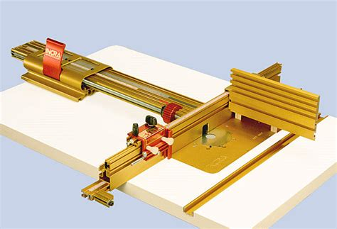 incra router table fence the components of this system
