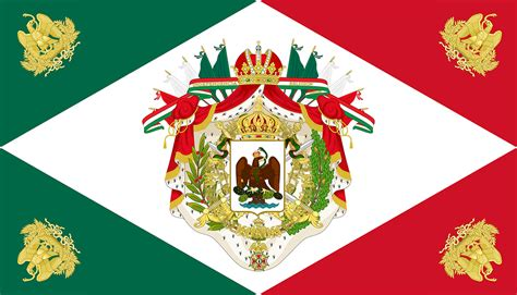 Spanish For House by Flag Of The Mexican Empire By Ieph On Deviantart