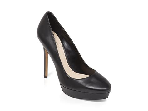 platform black high heels vince camuto platform pumps niomi high heel in black lyst