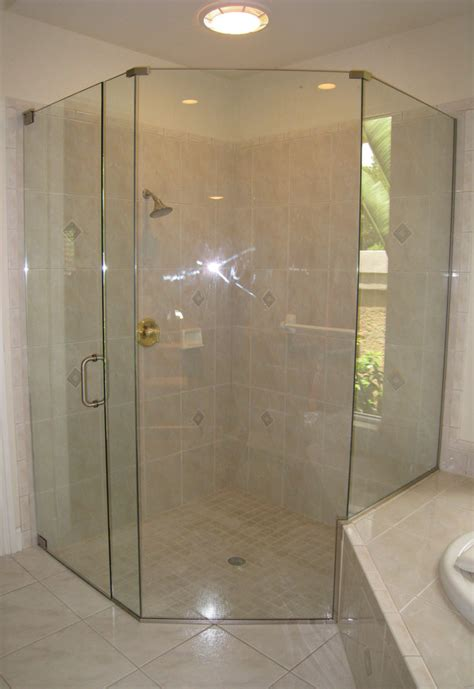 Neo Angle Shower Doors In Naples Fl Angle Shower Doors