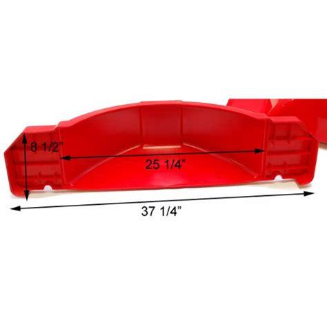 boat fenders red karavan bayliner boat trailer fender set red 37 quot ebay