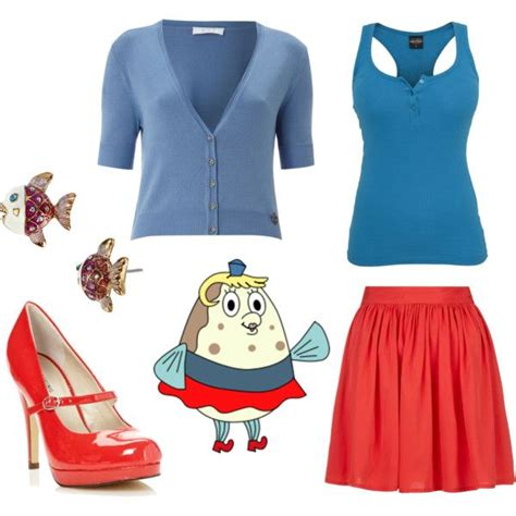 Dress Spongebob Squarepants this mrs puff inspired is great for work the weekends and boating school spongebob