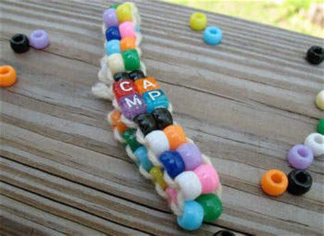 pony bead bracelet ideas pony bead c bracelet family crafts
