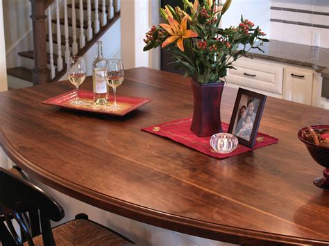 Kitchen Island With Butcher Block Top Custom Wood Countertop Options Finishes