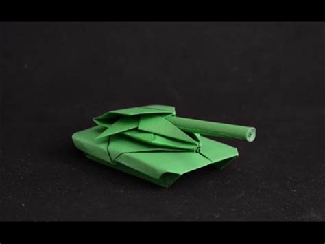 easy origami tank origami battle tank