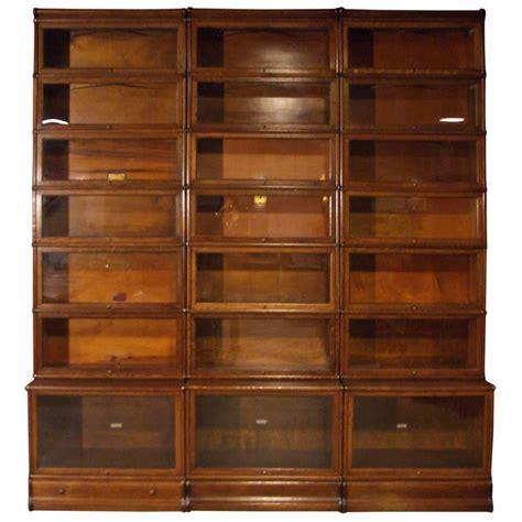 large bookshelves for sale big oak globe wernicke bookcase for sale at 1stdibs