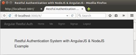 node js backend tutorial angularjs tutorial token json web token jwt based