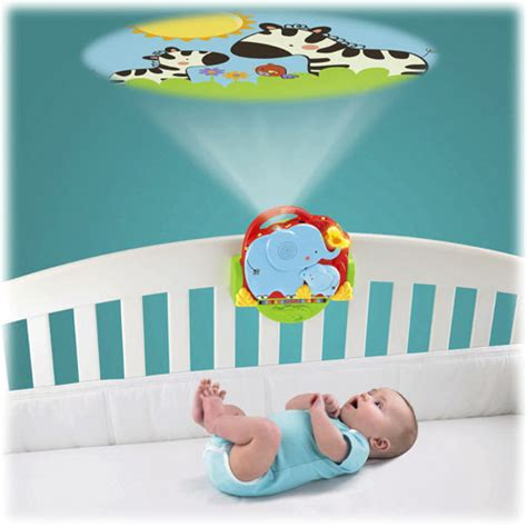 new fisher price u zoo baby crib n go projector