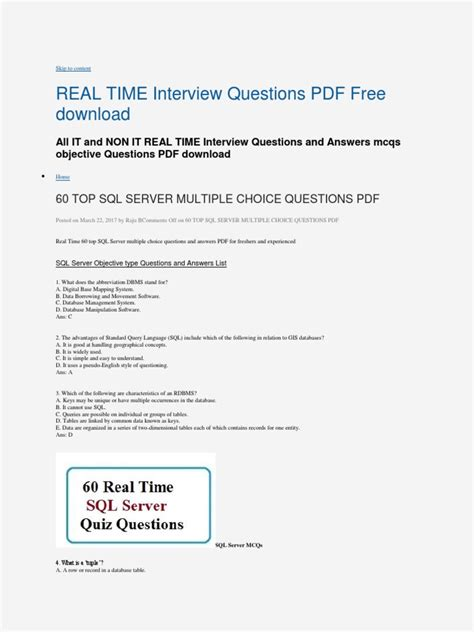 30 essential software testing interview questions checklist