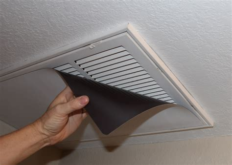 save money by covering heat and air conditioner vents in